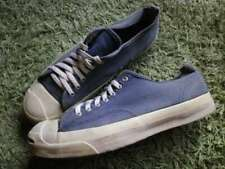 Converse Jack Purcell Men's size 11 Sneakers USA Canvas Navy 80's Vintage Rare