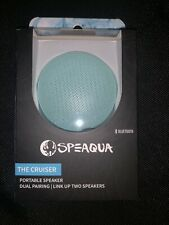Speaqua Bluetooth Portable Speaker The Cruiser Dual Pairing Link Up Two Speakers