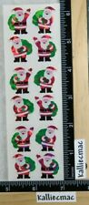 Sandylion SANTA Stickers CHRISTMAS HOLOGRAPHIC FREE SHIPPING