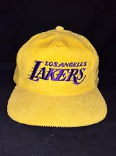 LA Lakers Sports Specialties The Cord Vintage Corduroy Hat SnapBack