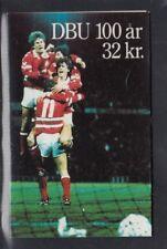DENMARK Centenary of Danish Football Association MNH booklet