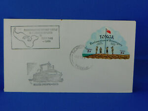 TONGA COVER 1973 SOUTH PACIFIC    [A9/2]