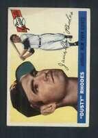 1955 Topps #1 Dusty Rhodes EX/EX+ NY Giants 85635