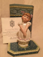 "LENOX  BAREFOOT BLESSING "" I LOVE COLLECTING"" 1999....SIGNED!!"