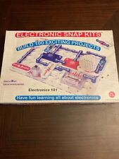 Electronic Snap Kits Electronics 100 Exciting Projects Kids Learning Homeschool