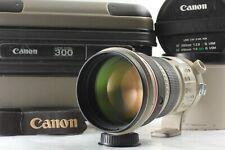 [Optical Mint & Original Hood Case] Canon EF 300mm F/2.8 L IS USM From Japan #36