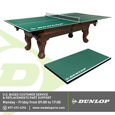 NEW Dunlop 12mm 4 Piece Indoor Table Tennis Table Conversion Top, Green