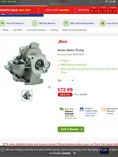 Airtex Water Pump 1748 for BMW 1 & 3 series Z4 roadster 201110375