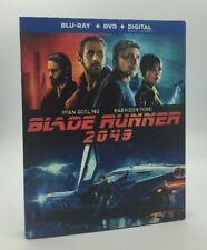 Blade Runner 2049 (Blu-ray+DVD+Digital, 2018; 2-Disc Set) NEW w/ Slipcover