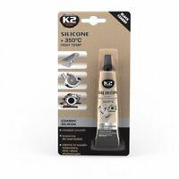 K2 Silicone Black Silikonkleber Dichtmasse Hochtemperatursilikon 21g +350°C