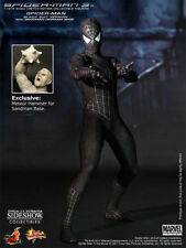 Hot Toys 1/6 Marvel Spider-Man 3 MMS165 Costume Noir Sideshow Exclusive