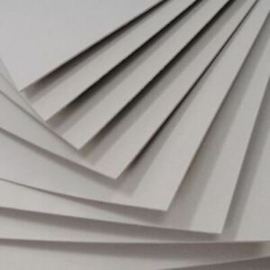 Grey Board Stiffeners 750 Micron 0.75mm Thick   Mail, Vinyl, Albums   A5 A4 A3