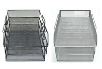 5 or 3 Tier Office Filing Trays Document Tray A4 Document Letter Paper Storage