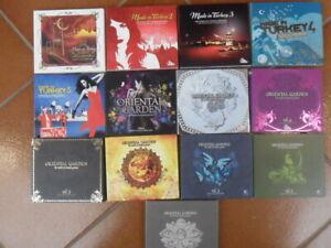 Gülbahar Kültür/Oriental Garden 1-8 + Made in Turkey 1-5,13 Digipacks auf 26 CDs