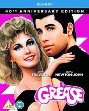 Grease 40th Anniversary Blu-ray 2018 Region