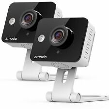 Zmodo ZM-SH75D001-WA-Q2 720p HD Wireless Smart Security Camera - 2 Pack