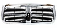 CH1200279, New Grille Assembly-Chrome Shell Black Insert, For Dodge Dakota 05-07