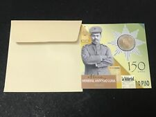 Philippines 10-Piso Heneral Antonio Luna Commemorative Coin in Blister Packaging