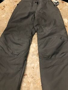 Pacific Trail Black Dot Women's Water Resistant Snowboard and Ski Pants Gray L