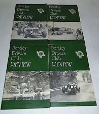 Bentley Drivers Club Review 1978, 4 Issues, 127 Feb, 128 May, 129 Aug, 130 Nov