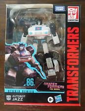 JAZZ Transformers Generations Studio Series The Movie Deluxe Class 86-01 MIB