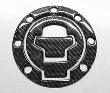 7 Bolt Gas Fuel Cap Cover Protector Sticker for Suzuki Real Carbon Fiber