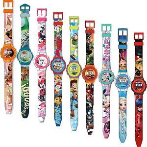 Armbanduhr Kinderuhr Uhr Kinder Silikon Disney Armband Digital Frozen ab 4,90 €