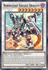 YUGIOH PROXY: BORRELOAD SAVAGE DRAGON | Orica Custom Card SAST Kalliberlade