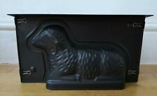 JELLY MOULD metal black lamb sheep Easter Spring