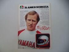 advertising Pubblicità 1983 CASCO HELMET AGV KR 2000 e KENNY ROBERTS