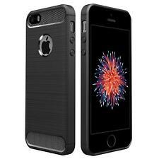 Hülle Carbon für iPhone 5 5s SE Schutzhülle Handy Case Hybrid Cover Handyhülle