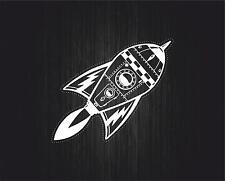 Sticker adesivi adesivo moto auto jdm bomb tuning casco spazio razzo spaziale R3