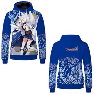 Azur Lane Cosplay Anime Hoodie Sweatshirt Unisex Casual Hooded Pullover Coat