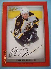 "2006-07 Beehive ""Red Border Variation"" Facsimile Autograph # 105 Phil Kessel RC!"