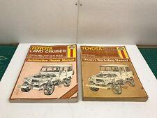 Toyota Land Cruiser Owner's Workshop&Auto Repair Manuals Haynes 2-pcs.