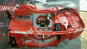 jonsered chain saw 2186 - 2188 used complete crankcase with oiler assy. oem