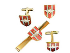 Parachute Regiment Cufflinks, Badge, Tie Clip Military Gift Set