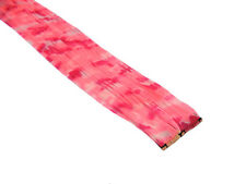 "CLIP-IN 12"" HAIR EXTENSION CAMOUFLAGE PINK CAMO PRINT EMO SCENE FUNKY PUNK"