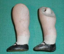 """Antiguo piernas para Casa de Muñecas Muñeca Lastic fijación 1.74"""""""