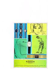 PUBLICITE  1971   VACHERON CONSTANTIN  collection montres
