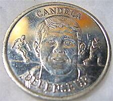 essai de médaille,CANDELA , F.F.F 1999 COLLECTION OFFICIEL DES MEDAILLES
