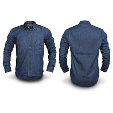 CAMICIA Jeans Uomo CARRERA Art.205 Regular Denim Tg da S a 3XL 2 VARIANTI DD