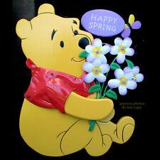 "NEW 12"" DISNEY WINNIE THE POOH SPRING FLOWERS Lights Lightings Table Wall Decor"