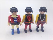 Playmobil Figures Set of 3 Men Figures Male Pirates