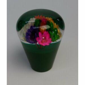 Green JDM 60mm suichuuka dried flower shift knob gear knob - 12x1.25 or 10x1.25