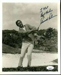 Arnold Palmer JSA Cert Hand Signed 8x10 Photo Autograph