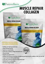 MUSCLE REPAIR BEEF COLLAGEN HYDROLYZED GELATIN HEALTH 500g Purewellness