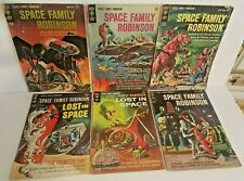 🛸 Space Family Robinson Lost In Space # 2,3,4,13,27,29 Gold Key 1963-1968 Vg-