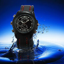 Waterproof Wrist Spy Watch HD1080P Video Recorder Hidden Camera DVR