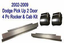 02 09 Dodge 4Pc Regular Cab Slip-On Rocker & Cab Corner Kit, Ram Truck  2 Door